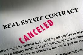 Cancelling a Real Estate Contract Image