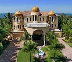 Taj Mahal-style dream house